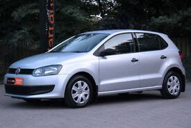 2011 Volkswagen Polo, 34,000 miles, 1.2 S 5Dr, FSH, Met. Silver *1 Years Warranty*