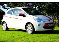 2009 FORD KA 1.2 PETROL HATCHBACK**LAVISH INTERIOR RED & WHITE **NEW CLUTCH*BRAND NEW MOT**