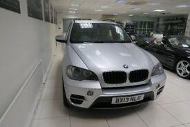 BMW X5 3.0 30d SE Station Wagon Auto xDrive 5dr (start/stop) (silver) 2013