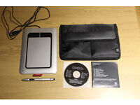 Wacom bamboo tablet driver with pen and carry case