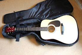 Eastwood Acoustic Guitar + Soft Case