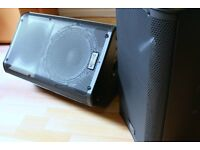 QSC K10 pair - Stunning sound for bands/DJ's. Excellent condition. Includes tote bags.