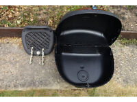 Tech motorcycle Top box 48L with 2 keys and fitting plinth. Great overall cond. only used 1 time