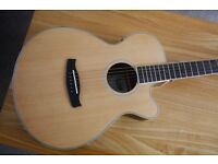 Brand new TANGLEWOOD DISCOVERY ELECTRO-ACOUSTIC GUITAR for sale, case included.