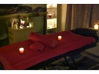 4 Hands Massage. Therapeutic massage with 2 ladies therapists. Warm oil, heated table.