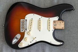 Fender USA Stratocaster Std Fully loaded 2014 Body CS pickups