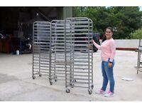 Fri-Jado Basic Convection Double Oven & 3x Stainless Steel Tray Racks