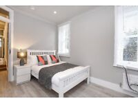 *PRIVATE GARDEN* A stunning newly refurbished four bedroom garden apartment on Fulham Palace Road.