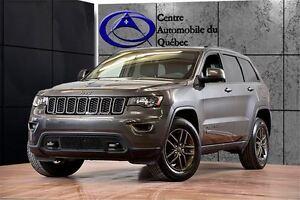 2017 Jeep Grand Cherokee 75e ANNIV.  4X4 TOIT NAV HITCH 234$/2SE