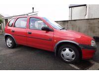 Vauxhall Corsa LS 1996 5 Door Hatchback