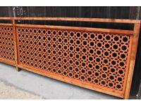 Moroccan style Restaurant Privacy Screen Divider Partition