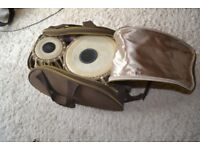 SMC Sunda Tabla, high-end Indian drums, virtually unused and in perfect condition