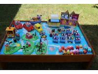 Peppa Pig mega bundle - figures, vehicles, playground, school & house