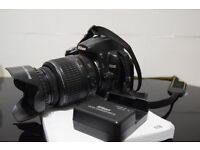 Nikon D5000 in excellent condition + Nikon VR Lens + FREE Lens hood and filter