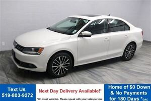 2013 Volkswagen Jetta 2.5L HIGHLINE! LEATHER! SUNROOF! HEATED SE