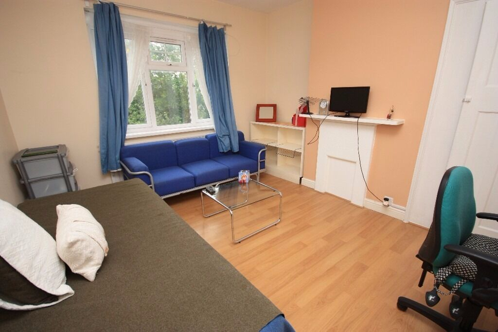A spacious room in a friendly, professional house share in East Acton!