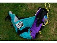 Wind surfing harness