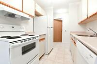 Top floor, south facing two bedroom apartment! w/in-suite w/d