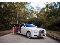 Rolls Royce Ghost Wedding Car Hire Manchester Chauffeur Hire Manchester Proms Special Occasions