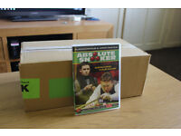swap laptop Alan Mcmanus And Jimmy White's Absolute Snooker DVD SUIT CAR BOOTER BOOT SALE JOB LOT