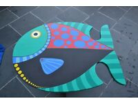 Fish pattern small table