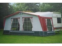 Bradcot Duchess Caravan Awning never been used excellent condition