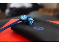 Blue edition Beats by dr Dre Urbeats monster apple metal brand new headphones earphones