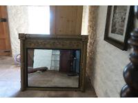 Antique Original Regency Mantle Mirror