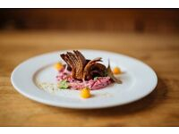 CHEF DE PARTIE OR COMMIS CHEF NEEDED FOR A BEAUTIFUL 2 ROSETTE INN BASED OUTSIDE OF GUILDFORD