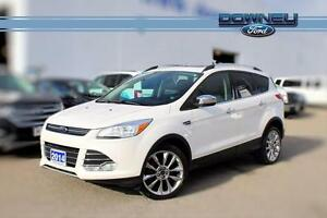 2014 Ford Escape SE ! CHROME PKG ! HTD LEATHER ! LOW KM !