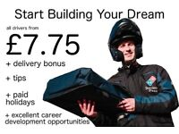 Domino's Pizza Hackney&Clapton Full/Part Time Driver Using a Company Scooter Wanted