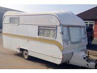 1977 4 berth vintage caravan