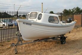 ARRAN 16 in Excellent Condition , ready to Fish - New 4 stroke electric start Engine On full remotes