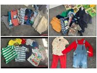 40 items of boys' clothes, aged 2-3 years