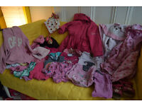 Girls bundle clothes 3 - 4 years