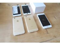 iPhone 6 16GB Rose Gold & Grey x3 - All Working - Need Screen's