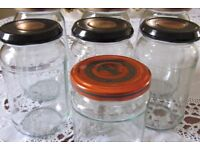 25 Standard Screw Top Jam Jars - Kew TW9