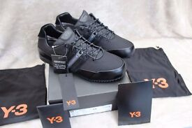 GENUINE Y3 SPRINT TRAINERS SIZE UK 10 MENS BRAND NEW IN BOX INCLUDING DUST BAG £120