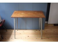 Vintage small desk / console table. Industrial.