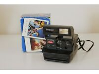 One Step Flash Polaroid Camera