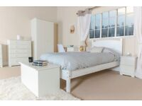 Banff White Bedroom Furniture **Home Delivery Available**