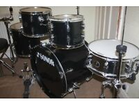 "Sonor Extreme Force Black 5 Piece Drum Kit (22"" Bass) - DRUMS ONLY"