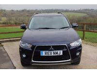 Mitsubishi Outlander 2.2 DI-D GX4 5dr (7 seats) ONE OWNER. GREAT DRIVE