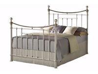 Brand New Cream Bronte King size bed frame £280 ONO