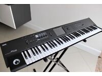 KORG M50 73 note Synth and padded carrying case.