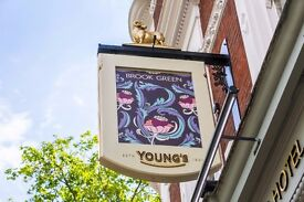 Sales and Marketing Coordinator for West London's best pub, bar and hotel!