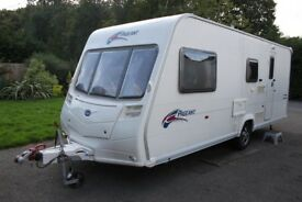 Bailey Pageant Champagne 2007 4 Berth Caravan + Full Awning
