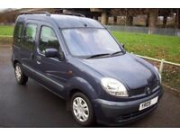 Renault kangoo 1.5 dci 2005 venture family mpv cheap to tax and insure excellent mpg!