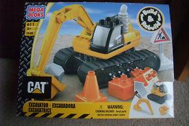 CAT excavator (NEW)