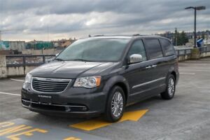 2011 Chrysler Town   Country Limited Loaded, DVD, Coquitlam Call